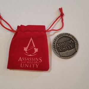 Loot Crate Assassin's Creed Unity Coin with pouch